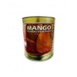 Tajadas de mango en almíbar...