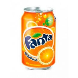 Fanta de naranja 24x355ml