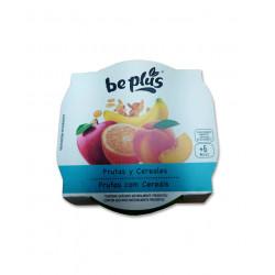Puré de frutas con cereales...