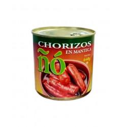 Chorizos en manteca 640gr-ÑO