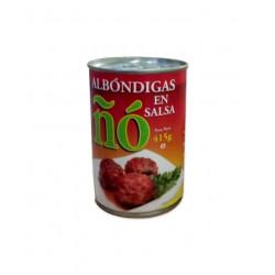 Albóndigas en salsa 415gr -ÑO