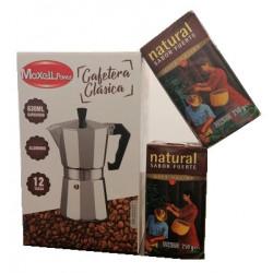 CAFETERA 12 TAZAS+ CAFE 2