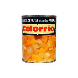 Cóctel de frutas en almíbar...