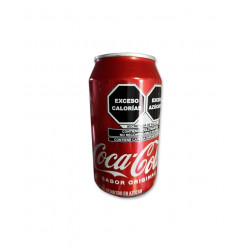 Caja de refresco coca cola 24u