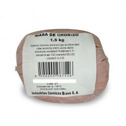Masa de chorizo 1.5 kg - BRAVO